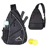 Himal Pickleball Bag- Adjustable Pickleball,Tennis,Racketball Sling Bag - Pickleball Backpack with Water Bottle Holder for Men and Women