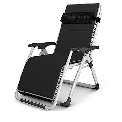 Liegestuhl HAIYU- Sonnenliege Stuhl Klappbare Stuhl Bürostuhl Konferenz Stuhl Haushaltsfaul Stuhl 5 Farben -für Haus & Garten & Balkonzubehör (Farbe : 3)