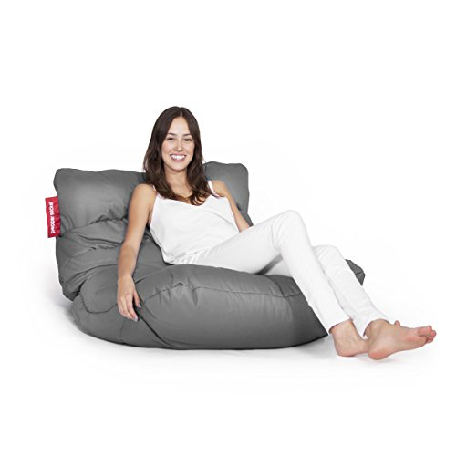 Pepper Sacks Sillón Puff Curve Gris