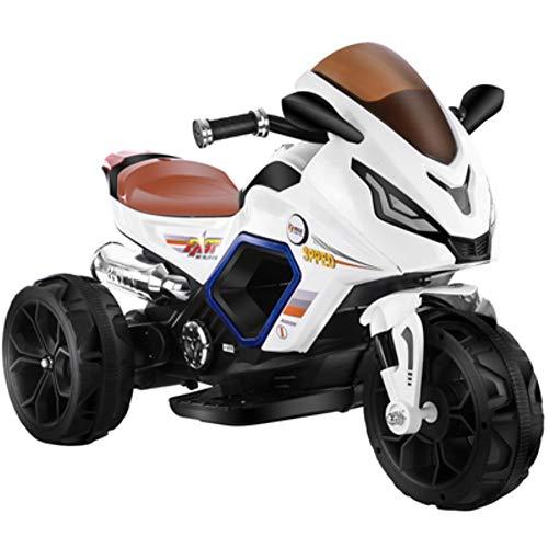 SUN JUNWEI Elektromotorrad Kinderelektroauto,Kinder Elektroauto Dreirad Spray Elektromotorrad Kann Menschen Sitzen Spielzeug Kinderauto Sitzen