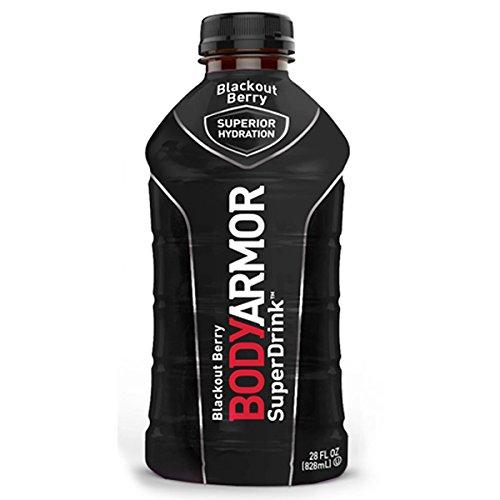 BodyArmor SuperDrink, Blackout Berry, 28 Ounce Bottles (Pack of 12)