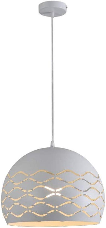 Intérieur Lustres Luminaires Eclairage De Plafond Restaurant Led Simple Tête Lustre Simple Moderne Créatif Pendentif Décoratif Suspension (35Cm  26Cm)