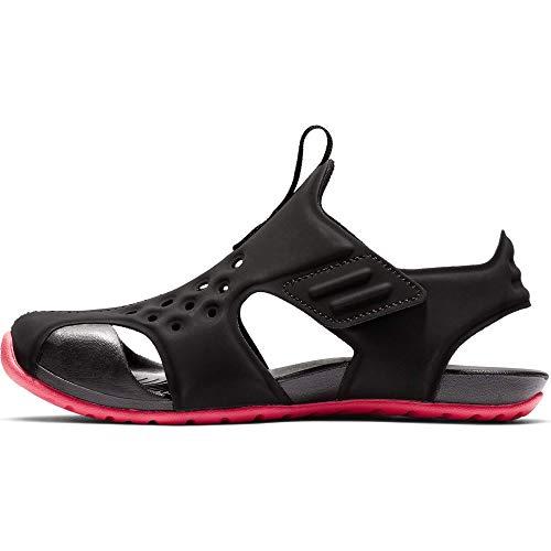 Nike Jungen Sunray Protect 2 (ps) Dusch- & Badeschuhe, Mehrfarbig (Black/Racer Pink 003), 28 EU