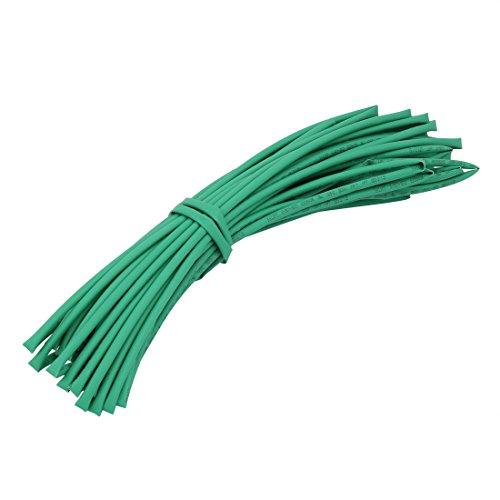 Aexit 10M Länge 3mm Innendurchmesser Polyolefin Isolierter Schrumpfschlauch Draht Grün (3c14bfb93ef94e879df92b4e518d82ac)