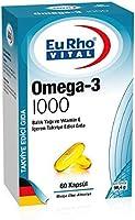 Eurho Vital Omega-3 1000 Mg Balık Yağı 60 Kapsül