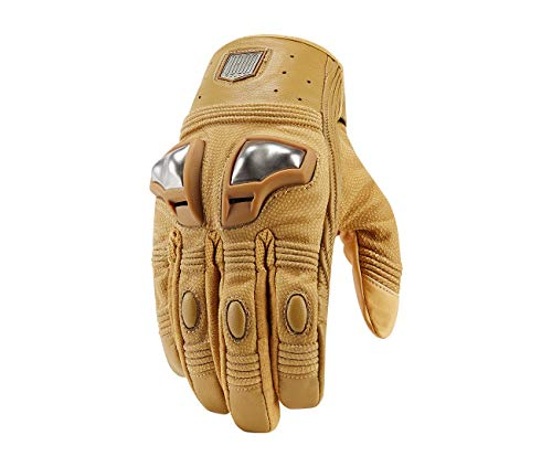 Handschuhe Icon 1000 Retrograde Glove beige – 2 x L -3301 – 2736