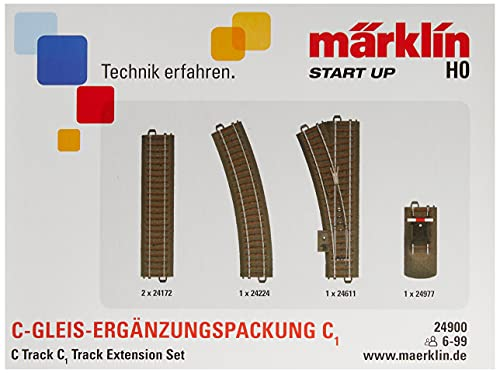 Märklin Start up 24900 - C-Gleis-Ergänzungspackung C1, Spur H0