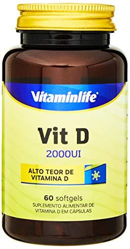 Vit D 2000UI - 60 Softgels - Vitaminlife, Xtr Nutrition