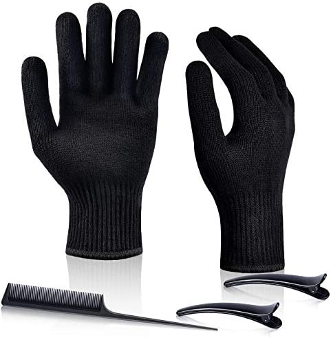 IKOCO 2PCS Heat Resistant Gloves Heat Proof Glove Mitts for Hair Styling Curling Iron Flat Iron product image