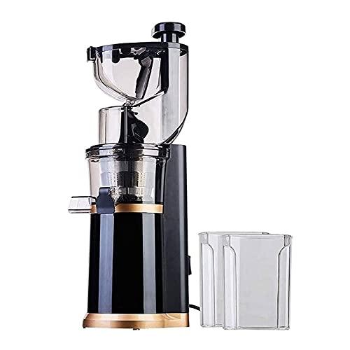 SMSOM Juicer lento, máquina de expresión de masticación lenta con gran altura de 80 mm, exprimidor de prensa en frío para frutas y verduras de nutrientes, máquina de expresión libre de información, fá