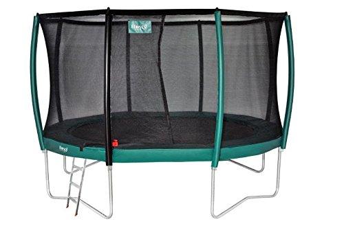 Etan Premium Niños Platinum 14Combi Deluxe trampolín de jardín, Verde, 427cm