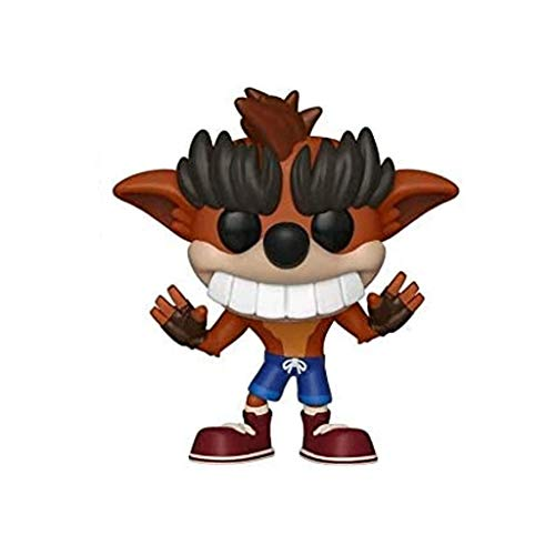 Funko Pop Games : Crash Bandicoot - Fake Crash Bandicoot (Exclusive) 3.75inch Vinyl Gift for Game Fans(Without Box) SuperCollection