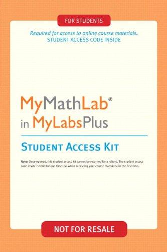 MyMathLab Plus -- Valuepack Access Card (2nd Edition)