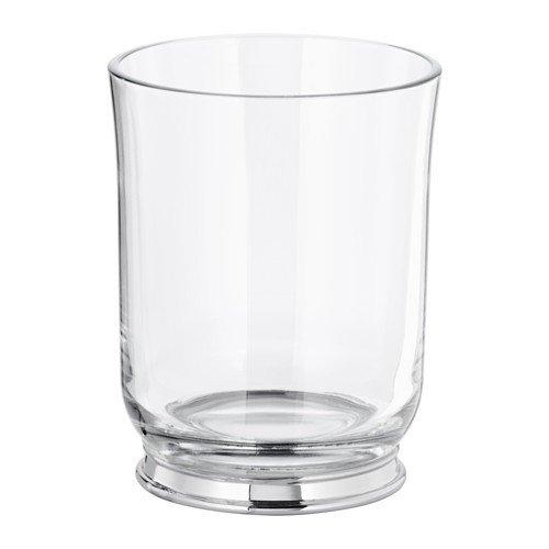 IKEA BALUNGEN Zahnputzbecher aus Glas