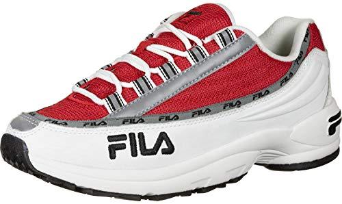 Fila DSTR97 Sneaker Herren Weiss/Rot - 44 - Sneaker Low