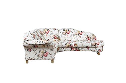 Geblümtes Sofa mit Federkern im Landhausstil Bild 6*