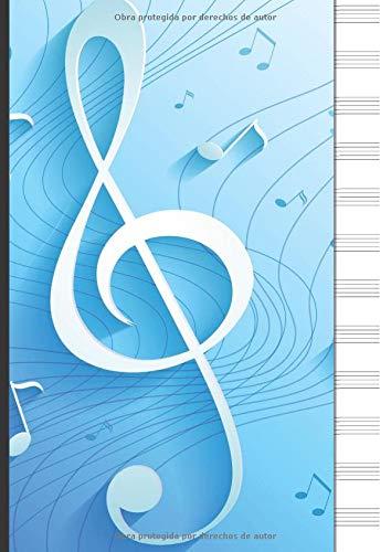 Cuaderno de Pentagramas: Cuaderno de pentagramas - Musica Li
