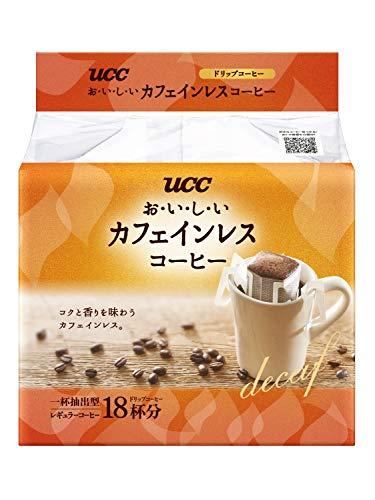 UCC お い し いカフェインレスコーヒー 18袋 袋7g×18 [4617]