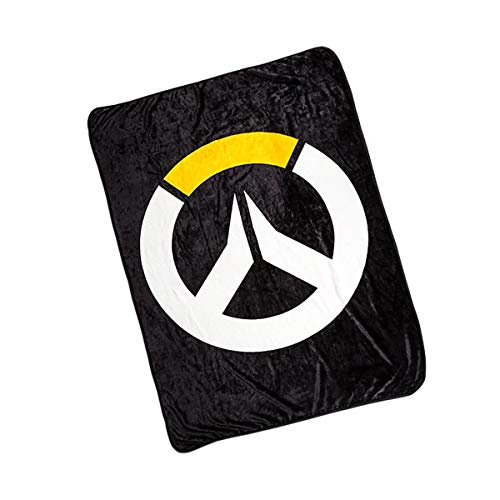 Overwatch Logo Lightweight Fleece Throw Blanket | 45 x 60 Inches