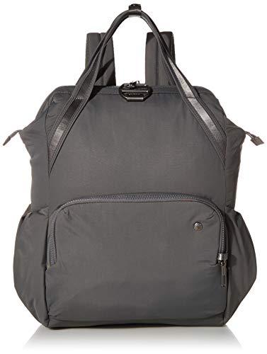 Pacsafe Women's Citysafe CX 17L Anti Theft Backpack-Fits 13 inch Laptop, Econyl Storm, One Size