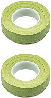 2 Light Green Floral Tape Stem Wrap Gum Paste 1/2