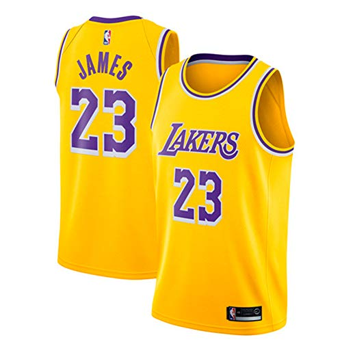Zhao Xuan Trade Los Angeles Lakers Lebron James Baloncesto Masculino Cosido Transpirable # 23 Sport Swingman Jersey Ropa ✅