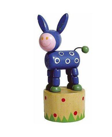 Ulysse - Jouet en Bois Wakouwa Marionnette Animal articulé Enfant 3 Ans + - ne