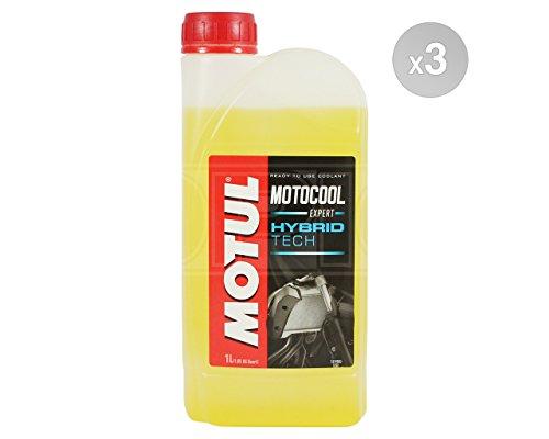 MOTUL Motocool Expert Hybrid Tech Motorrad Kühlmittel/anitfreeze–Bereit zu verwenden–3x 1Liter