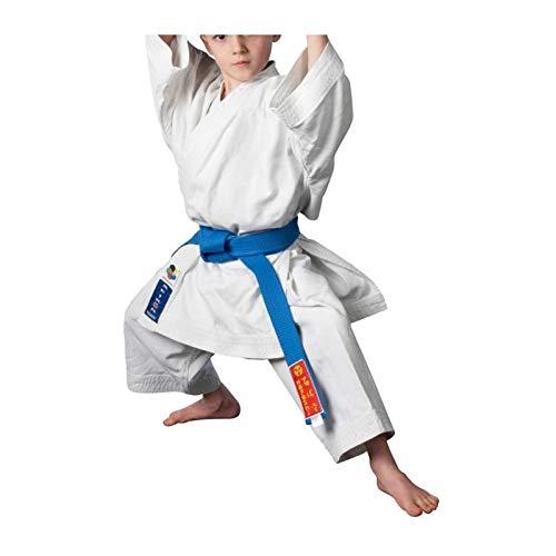 Hayashi REIKON Oficial WKF Kimono Karate Mixta, Unisex Adulto, Color Blanco, tamaño 150 cm