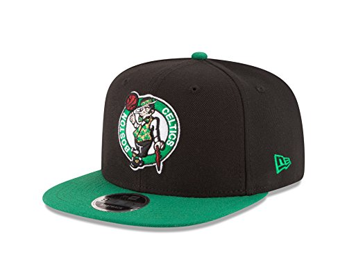 NBA Boston Celtics Men's 9Fifty Original Fit 2Tone Snapback Cap, One Size, Black