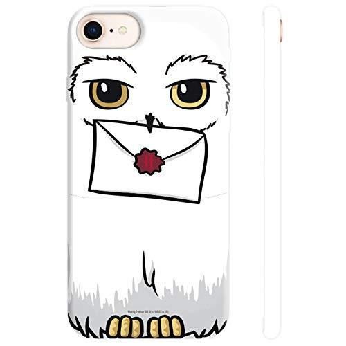 ABYstyle - Harry Potter - Coque de téléphone - Hedwige (pour iPhone 6, iPhone 6S, iPhone 7 et iPhone 8)