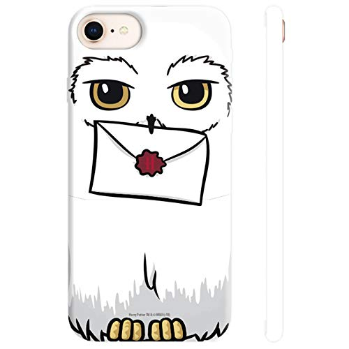ABYstyle - Harry Potter - Guscio del Telefono - Hedwige (per iPhone 6, iPhone 6S, iPhone 7 e iPhone 8)