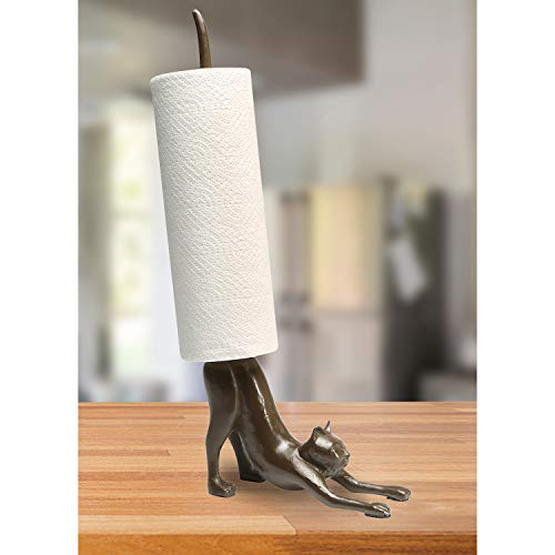Yoga Cat Paper Towel Holder