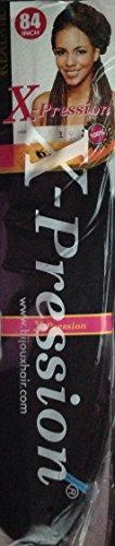 "Bijoux 84"" inches 100% Kanekalon Braiding Hair, Color #1 (1)"
