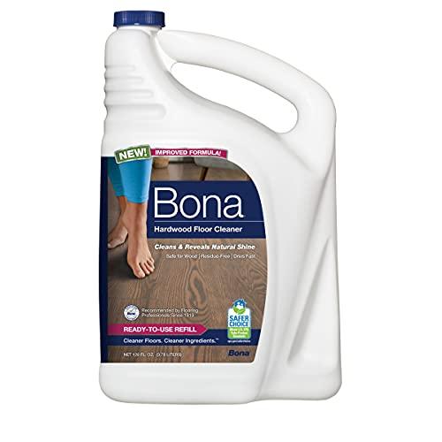 Bona Refill Hardwood Floor Cleaner, Refill-128, 128 Fl Oz