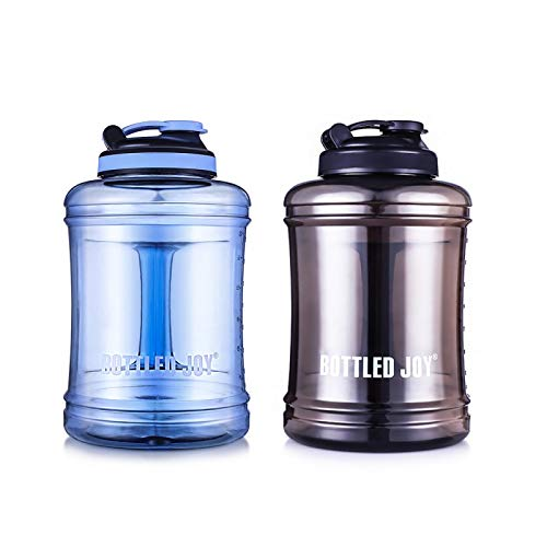 3nh 2.5L Large Capacity ABS Water Bottle Leakproof Bottle for Water Drinking Camp Drinker Hiking Tumbler Outdoors Acitivity Good: 2.5L, Black