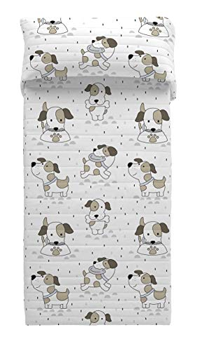 COOL KIDS Colcha Bouti Puppy Cama 90