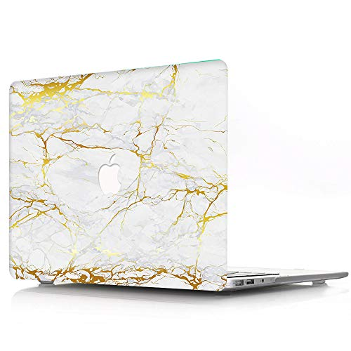 Plastic Hard Shell Case Compatible with MacBook Pro 13 inch / 13.3 inch with Retina Display 2012 2013 2014 2015 Release A1425 A1502 - Marble Wave