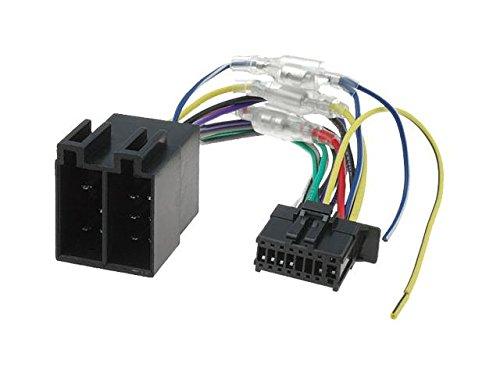Pioneer DEH MVH FH ISO autoradio-adapter