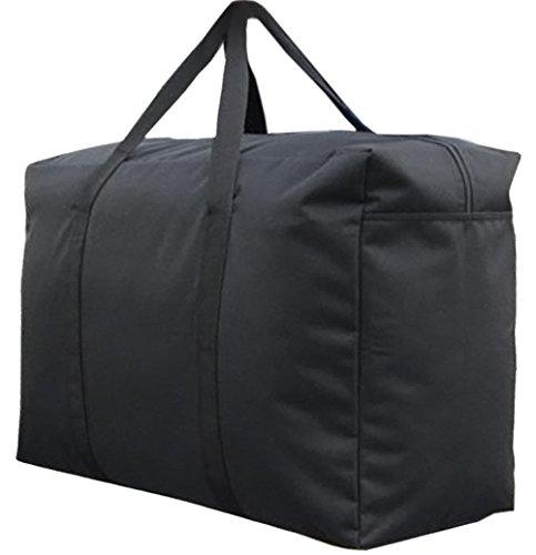 Handy Storage Bag Extra Large 100L Waterproof Heavy Duty 600D Oxford Jumbo Storage Bag with Web Handle,Bedding Underbed Storage Bag,Blankets Duvet Chest,Season Laundry Organizer-Size 85*55*33CM