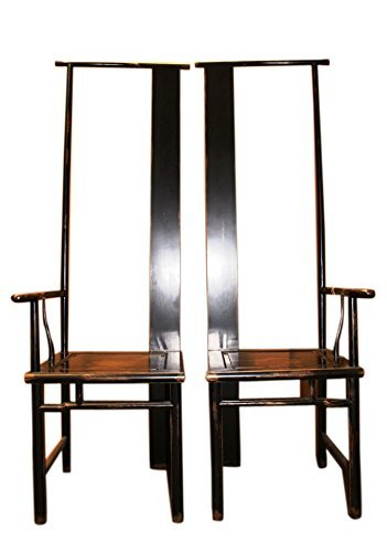 China 2 x plus antique tronstühle env. 50 ans