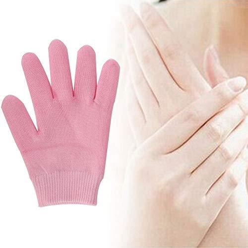 1 Paar Spa Handschuhe, Gel Handschuhe, Feuchtigkeitsspendende Handmaske für trockene Hände Handpeel Mask Spa Handschuhe Feuchtigkeitsspendende Handschuhe