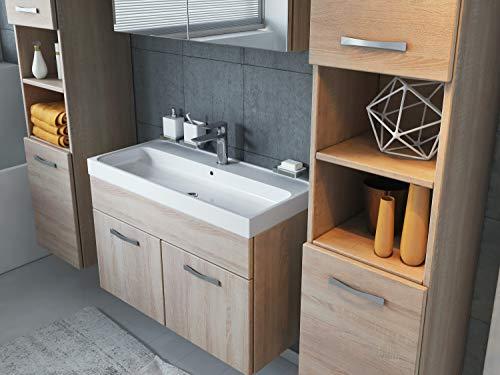 Badezimmer Badmöbel Set Paso XL LED 80 Bild 3*