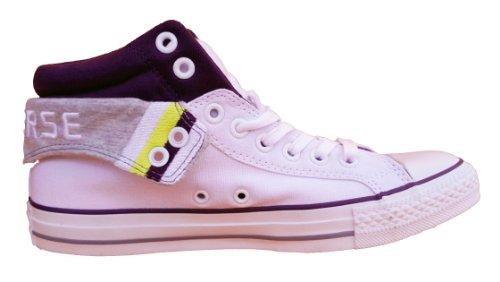 Converse CT PC2 Mid Boots, Unisex - Erwachsene Sneaker High-Tops, Weiß - weiß - Größe: 3 UK