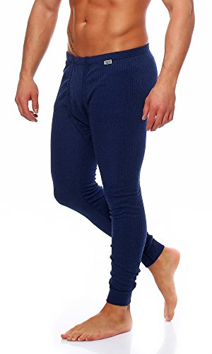 SGS Thermo-onderbroek voor heren, lang thermo-ondergoed, skiondergoed