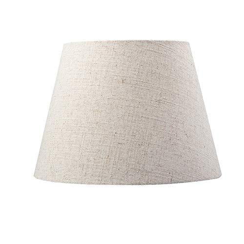Linen fabric barrel Type-Chandelier-Cloth vintage lampshade for table lamps and floor lamps