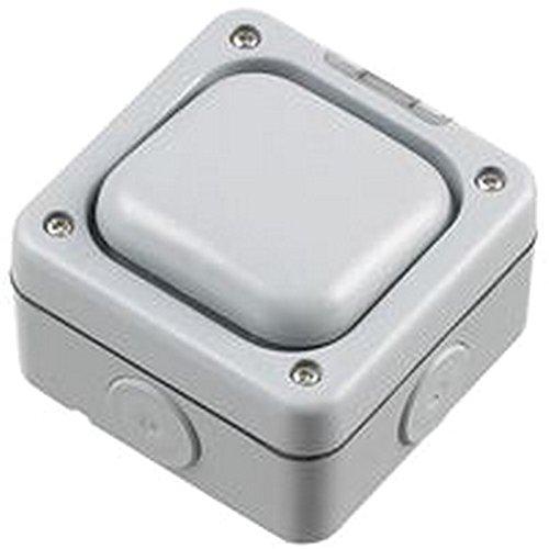 10A 1G SP 2vie elettrica Interruttori e prese di corrente, 10A 1G SP 2vie, grado di protezione IP: IP66, SVHC: No SVHC, serie: Masterseal Plus