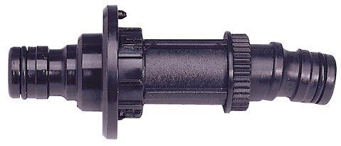 Gloria Zubehör 1,9 cm (0,75 Zoll) Umrüstsatz aus Kunststoff feuerverzinkt für Schlauchwagen Typ 221/223/224, schwarz