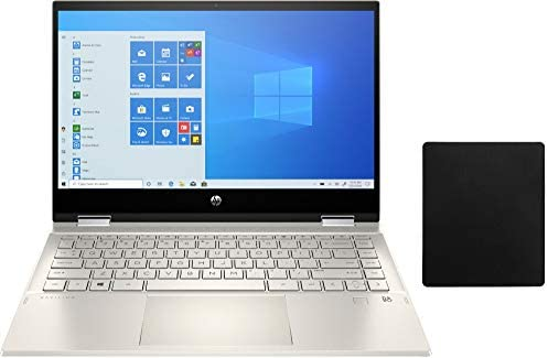 2020 HP Pavilion x360 2 in 1 14 FHD IPS Touchscreen Laptop W Mouse Pad 10th Gen Intel Core i5 product image