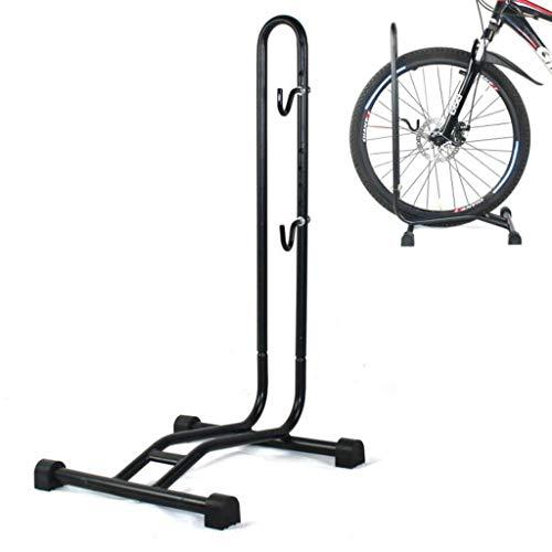 MBZL Fiets Vloer Type Parkeerrek Stand - voor Mountain en Road Bike Indoor Outdoor Nook Garage Opslag